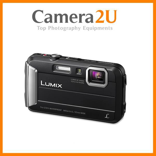 New Panasonic Lumix DMC-FT30 (Black) + 8GB + Case (M'sia)