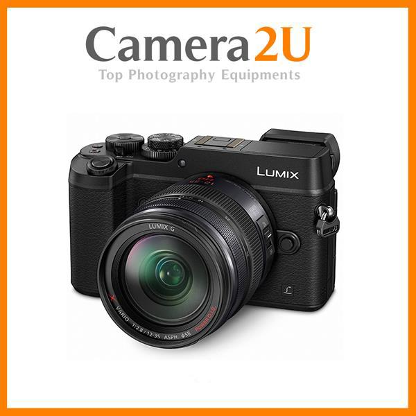 New Panasonic Lumix DMC-GX8 (Black) +12-35mm Lens + 8GB + Bag