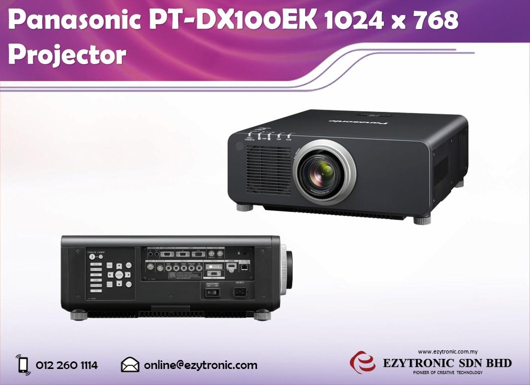 Panasonic PT-DX100EK 1024 x 768 Projector