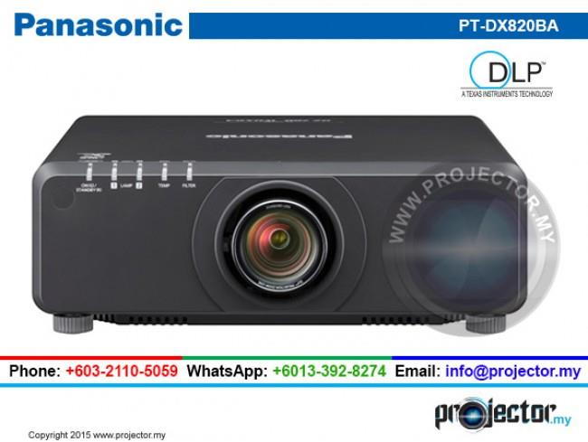 PANASONIC PT-DX820BA INSTALLATION PROJECTOR
