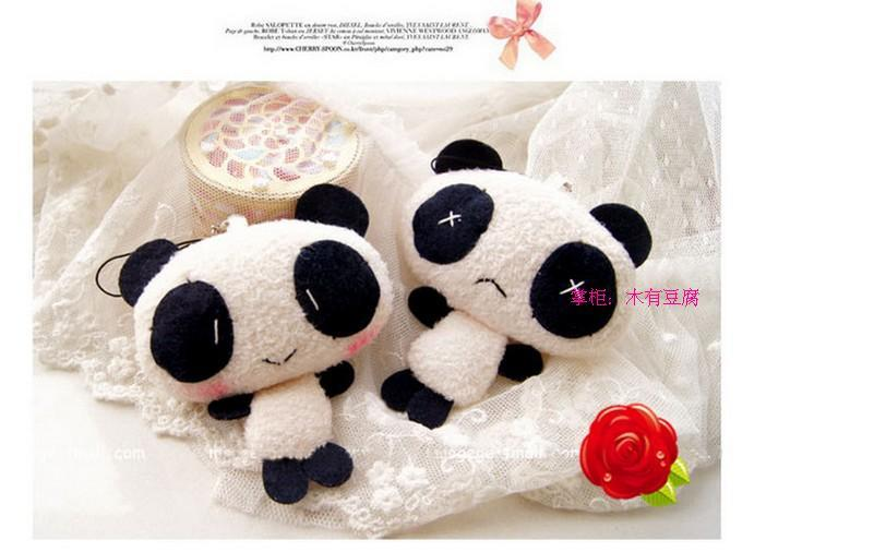 Little Panda Soft Plush Hanging Ornaments