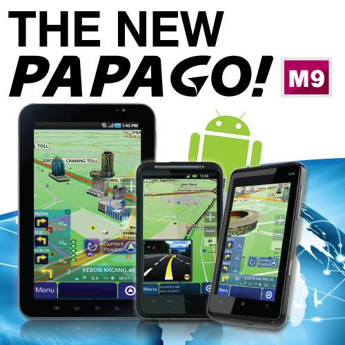 PAPAGO! M9 for Android Mobile