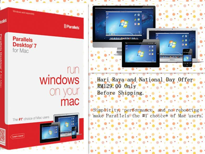 Parallels Desktop 7 for Mac-Run Windows OS together with Mac OSX