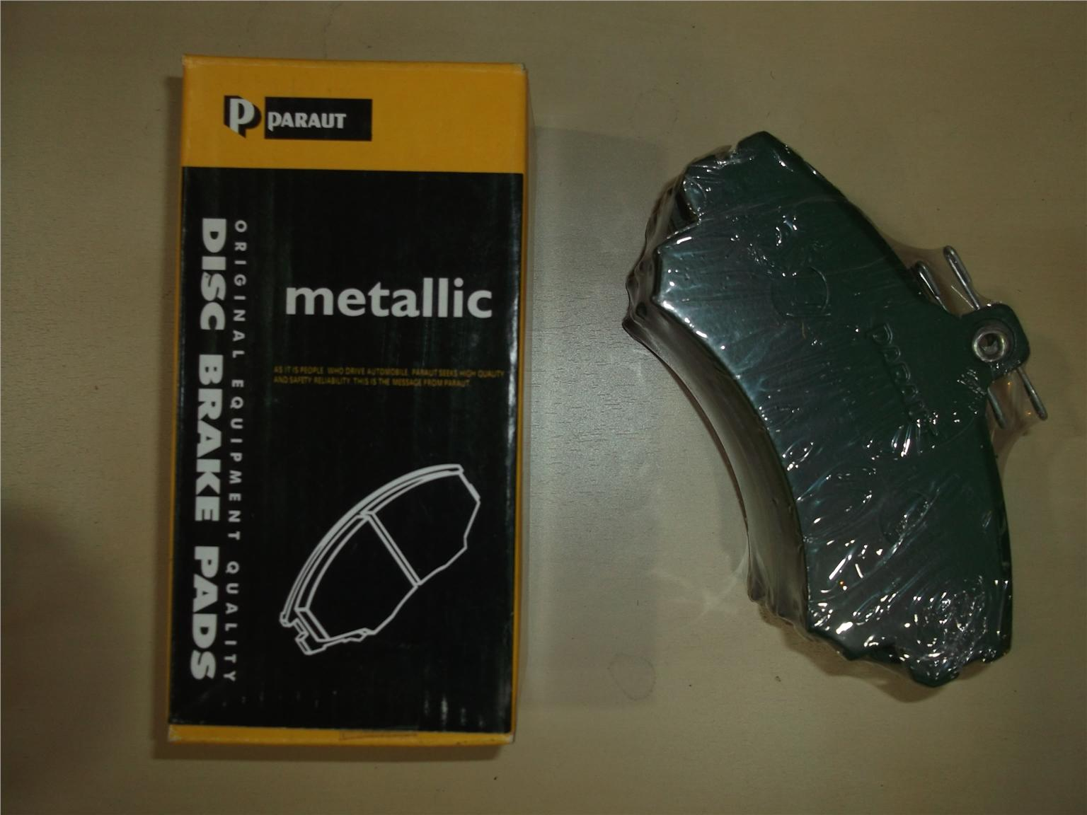 PARAUT METALLIC FRONT BRAKE PAD FOR WAJA, ALZA