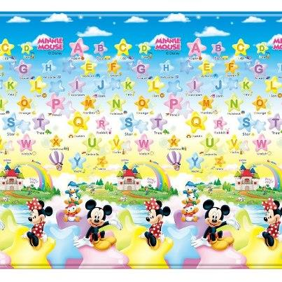 New Parklon Prime Living Roll Mat Playmat design Mickey Mouse ABC Star