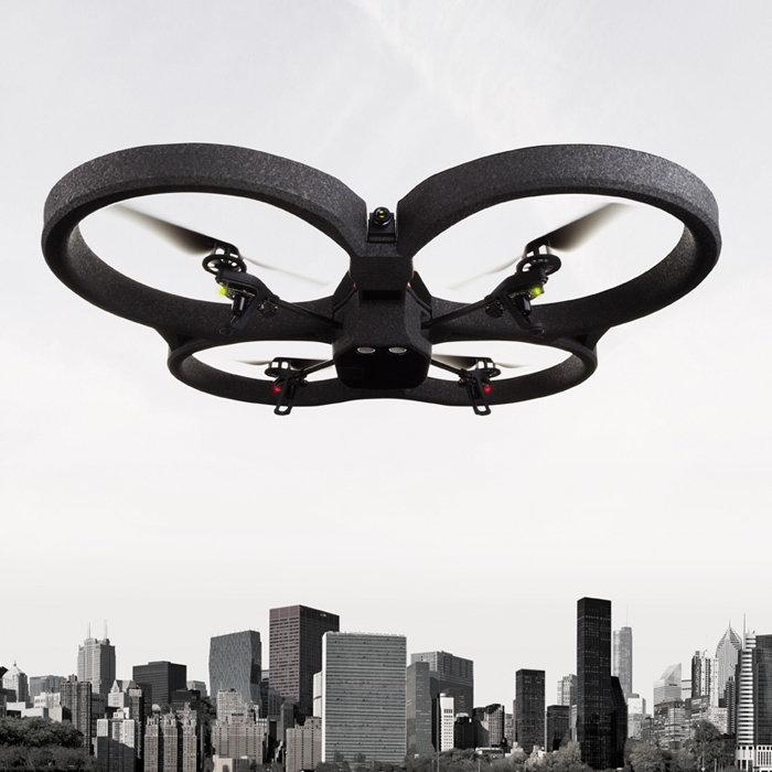 Parrot AR.Drone 2.0 App-Controlled Quadricopter for iphone ipad Androi..