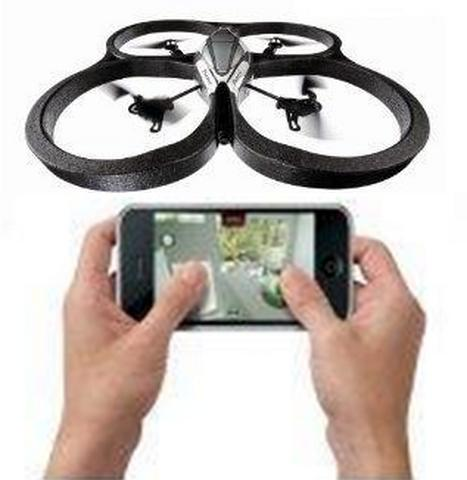 Parrot AR Drone Quadricopter 2.0 - WIFI remote control by Phone Tablet