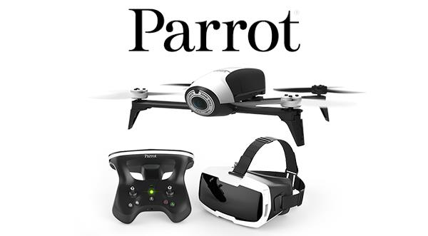 Parrot Bebop 2 FPV Drone Malaysia. 14mpx Full HD, 25min Flying Time.
