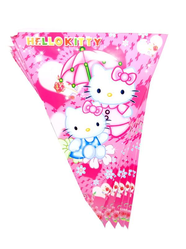 Party Flag/ Party Banner X 1 set (Hello Kitty)