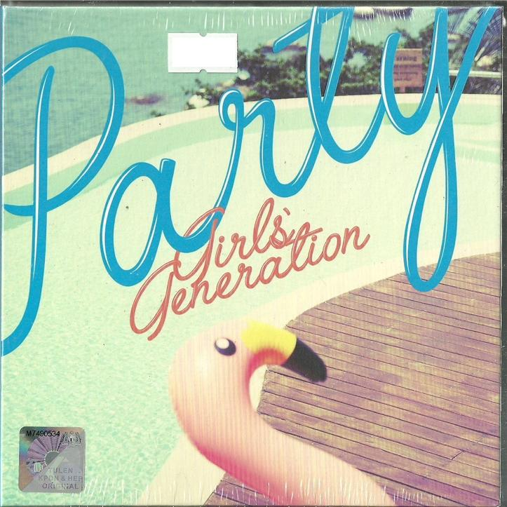 PARTY - GIRL GENERATION - COMPLETE ALBUM BOX SET