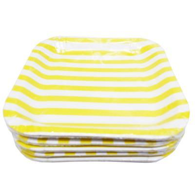 Party Paper Plates 10s (Yellow)