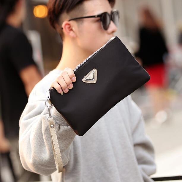 New pattern business men and women casual nylon clutch bag