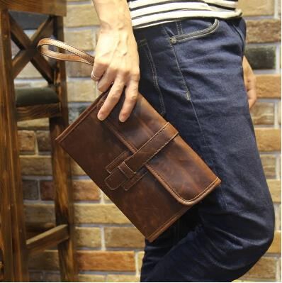 New pattern trend of men's clutch bag