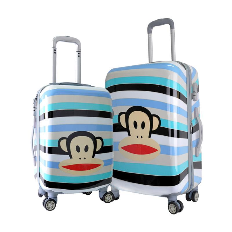 PAUL FRANK Julius Lightweight ABS+PC Travel Luggage Set 20''+24'' BOTH