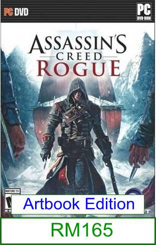 PC Assassin's Creed Rogue ★Brand New & Sealed★