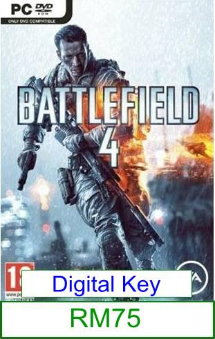 PC Battlefield 4 ★Brand New & Sealed★
