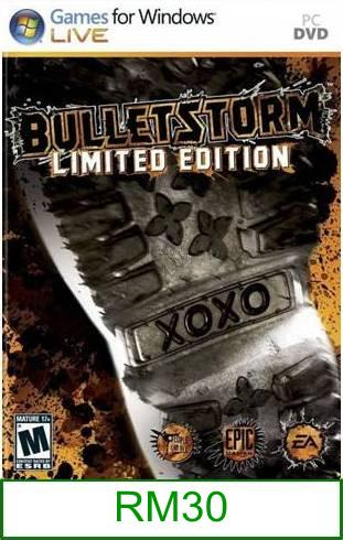 PC Bulletstorm (Limited Edition) ★Brand New & Sealed★