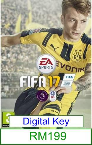PC FIFA 17 ★Brand New & Sealed★
