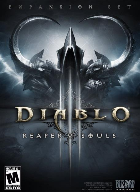 PC GAME :: DIABLO III: REAPER OF SOULS :: NEW & SEALED