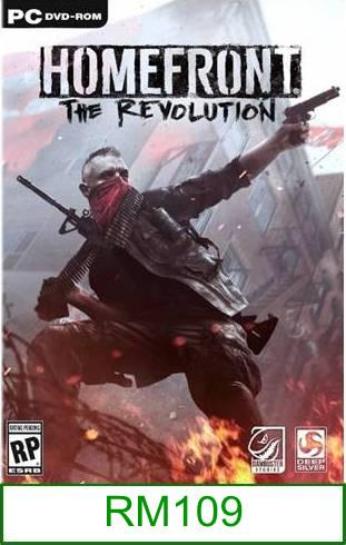 PC Homefront The Revolution ★Brand New & Sealed★
