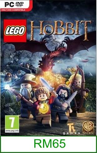 PC LEGO The Hobbit ★Brand New & Sealed★