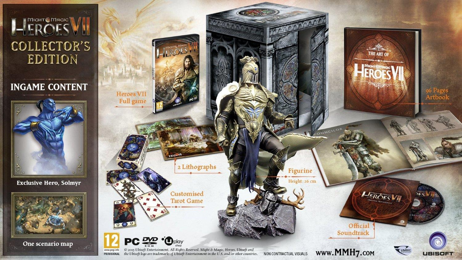 PC MIGHT & MAGIC HEROES VII COLLECTOR EDITION