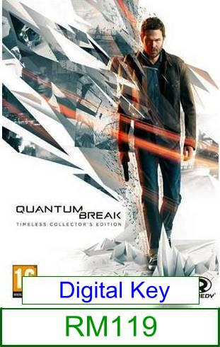 PC Quantum Break ★Brand New & Sealed★