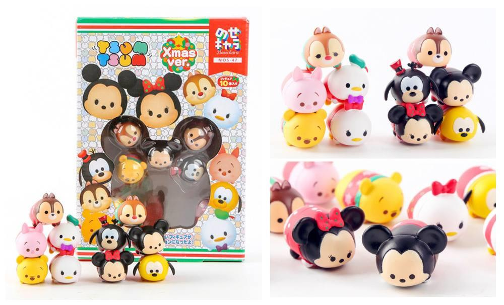 PC0101 XMAS TSUM TSUM CARTOON COLLECTION SET (10 CARTOON IN SET)