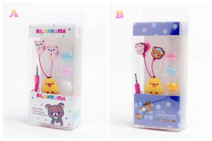 PC0102 RILAKKUMA SERIES EARPHONES