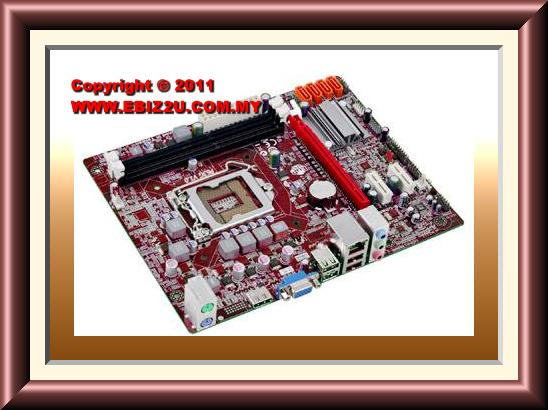 PCCHIPS P63G Intel H61/S1155/DDR3 Motherboard For Intel