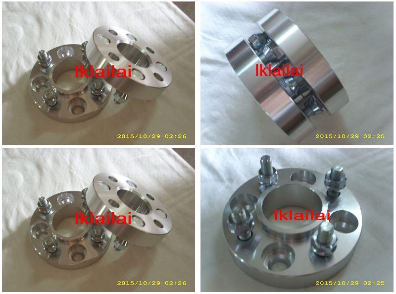 PCD 4X100 Wheel Spacers 20mm Thickness M12x1.5mm 67.1 w Center Cone