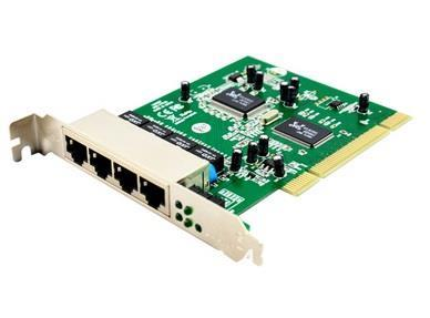 PCI Fast Ethernet Switch 4 Port Card