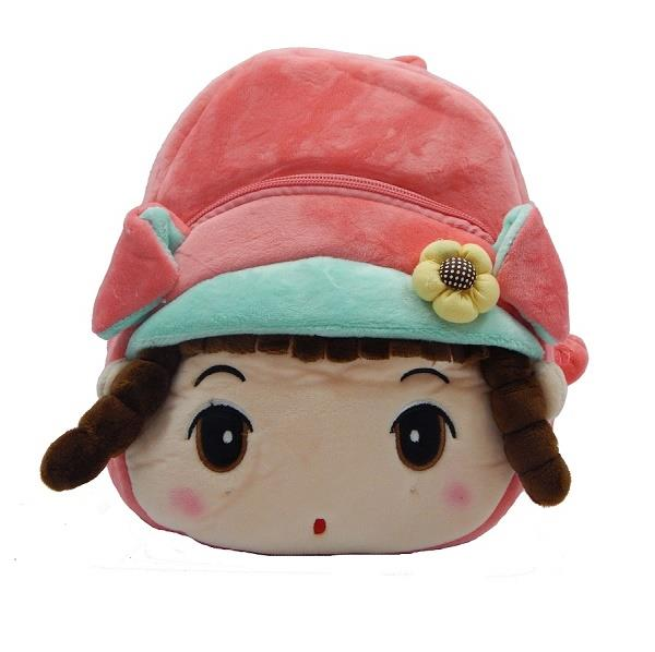 Peach Doll Soft Toy Bag For Kids B