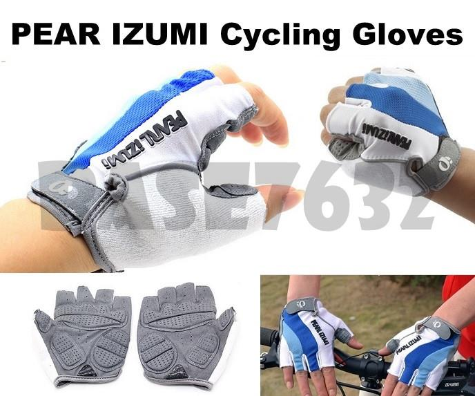 PEARL IZUMI Nylon Half Finger Fingers Bike Cycling Glove Gloves