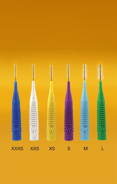 Pearlie White Interdental Brush (5 Brushes) (S 1.0mm)