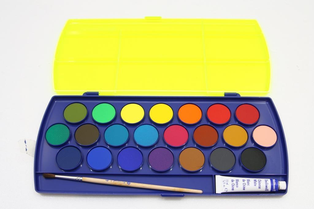 Pelikan Opaque Paint Box 22 Colours Water Colors