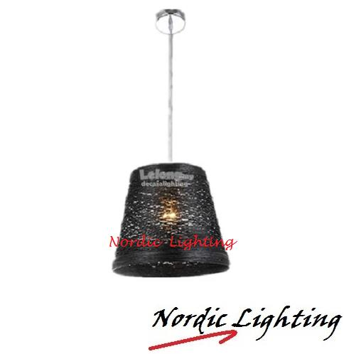 PENDANT LIGHT (HX-TRI-BLACK)