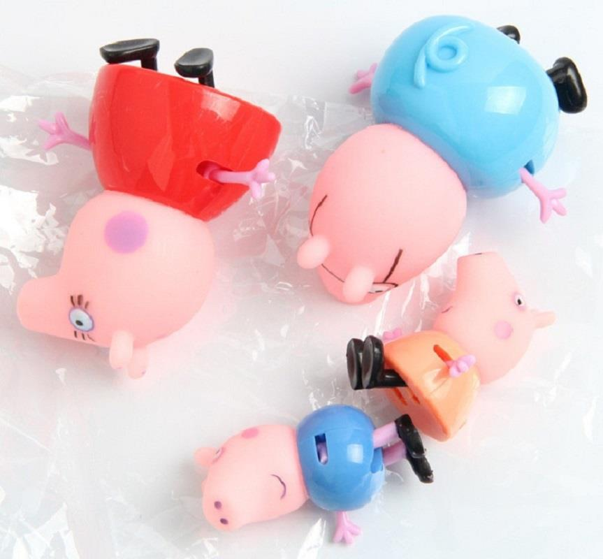 Peppa Pig Mini Figures/Figurine Toy 4 pieces