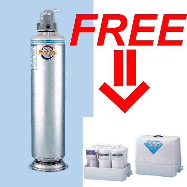 Perfect Steel Outdoor Water Filter FREE Cosway Hexagon alkaline water filter