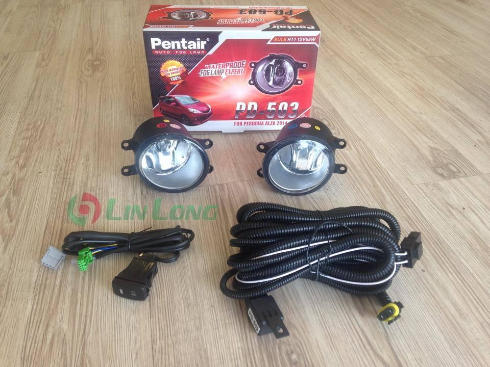 Perodua new alza 2015 oem fog lamp with bracket