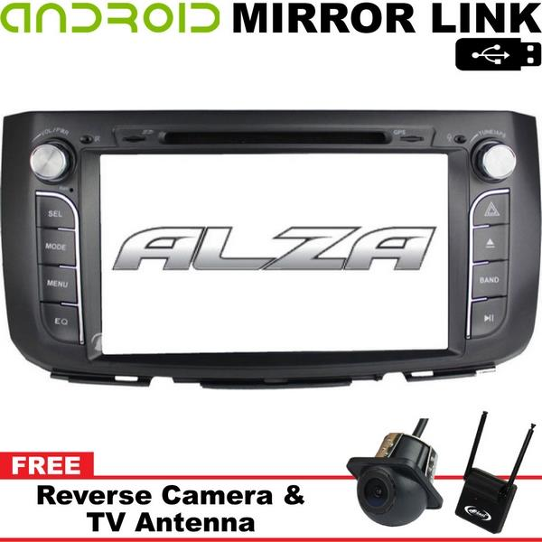 """PERODUA ALZA DLAA 9"""" Android Mirror Link Double Din DVD MP3 TV Player"""