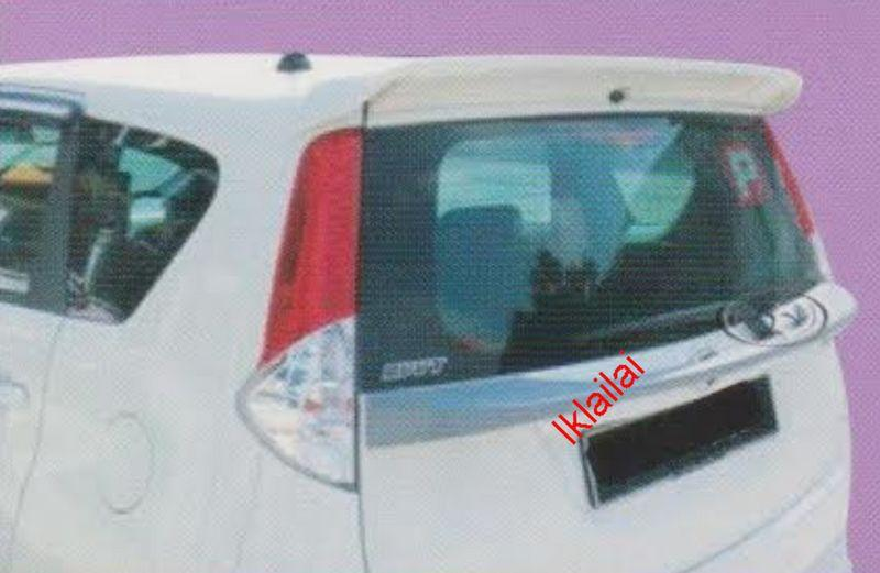 Perodua Alza Rear Center Spoiler