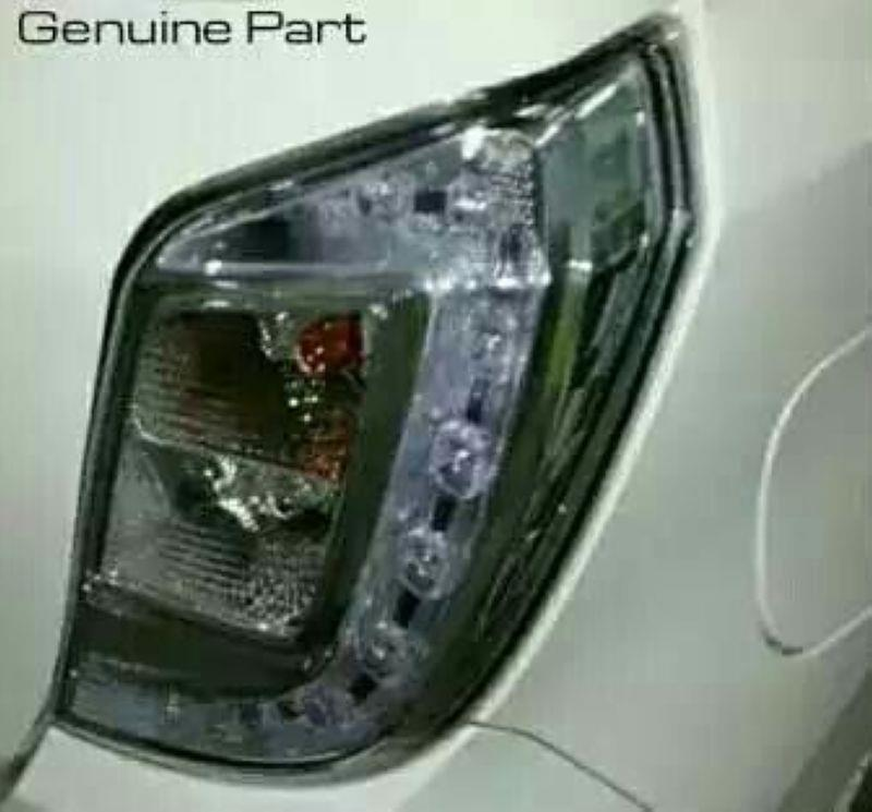 Perodua Axia '14-15 Crystal LED Tail Lamp Clear Lens