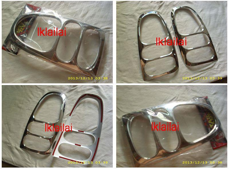 Perodua Kelisa Tail Lamp Chrome Cover