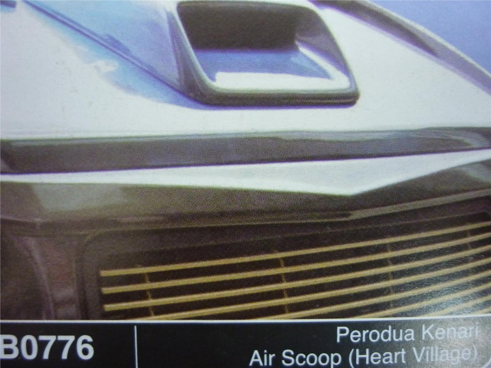 PERODUA KENARI AIR SCOOP HEART VILLAGE B0776