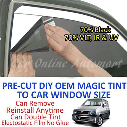 Perodua Kenari Magic Tinted Solar Window ( 4 Windows & Rear Window ) 7