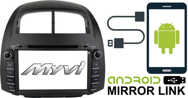 PERODUA MYVI 2005-10 DLAA 8' Mirror Link Double Din DVD TV USB Player