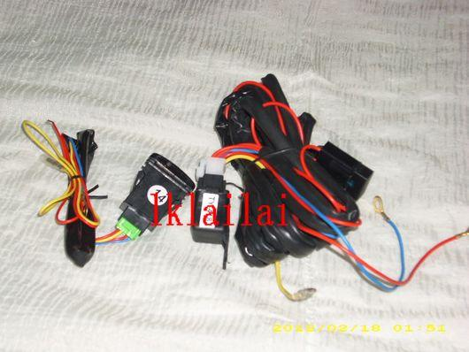 Perodua Myvi Head Lamp / Fog Lamp Wiring & Switch