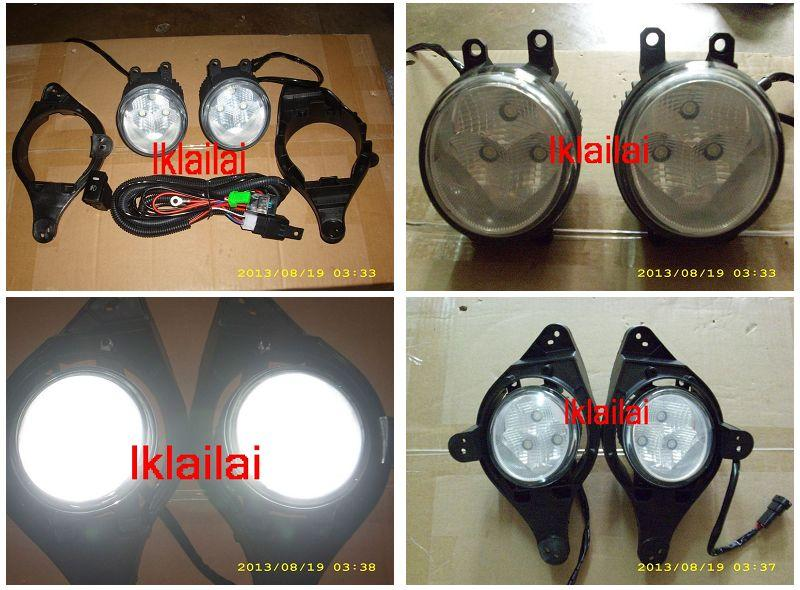 Perodua Myvi Lagi Best '11 3-LED Fog Lamp Daytime Running Light