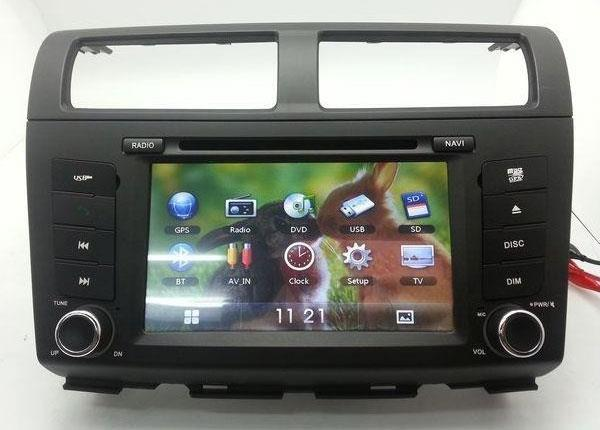 "PERODUA MYVI Lagi Best 2011-14 DLAA 7"" Double Din GPS DVD SD TV Player"